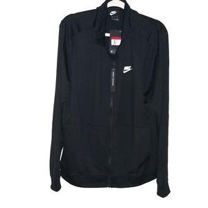 NIKE Fleece  Embellished Zip Up Track Jacket